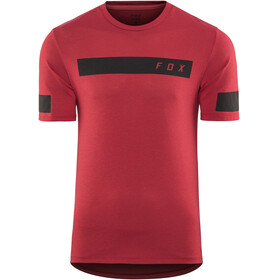 Fox Ranger Dri-Release Bar Bike Jersey Shortsleeve Men red